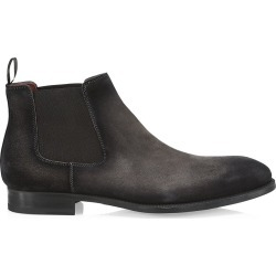 Saks Fifth Avenue Men's Suede Chelsea Boots - Grey - Size 9 found on Bargain Bro from Saks Fifth Avenue for USD $454.48