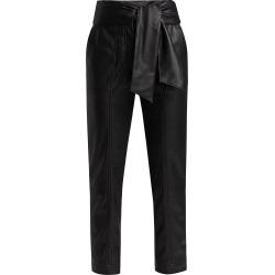 Jonathan Simkhai Women's Tessa Vegan Leather Tie Pants - Black - Size 10 found on MODAPINS from Saks Fifth Avenue for USD $425.00