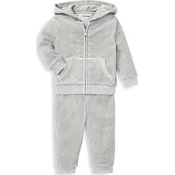 Ralph Lauren Baby Boy's Hoodie & Trackpants 2-Piece Set - Grey - Size 18 Months