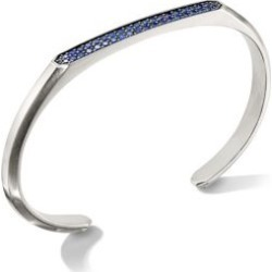The Pavé Collection Streamline Sapphire Cuff found on Bargain Bro Philippines from Saks Fifth Avenue AU for $1805.09