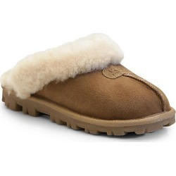 UGG Women's Coquette Sheepskin Slippers - Chestnut - Size 11 found on Bargain Bro India from Saks Fifth Avenue for $120.00