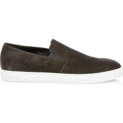 To Boot New York Men's Marius Suede Slip-On Sneakers - Lavagna Fano - Size 10.5