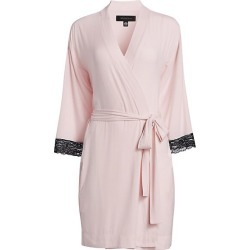 Lace-Trimmed Robe found on MODAPINS from Saks Fifth Avenue for USD $78.00