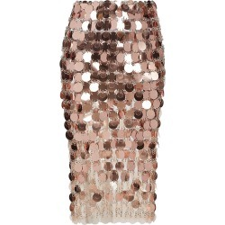 Paco Rabanne Women's Paillette Pencil Skirt - Transparent Pink - Size 10 found on MODAPINS from Saks Fifth Avenue for USD $1215.00