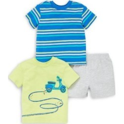 Ensemble short et t-shirt en coton pour bébé garçon, 3 pièces found on Bargain Bro Philippines from La Baie for $23.99