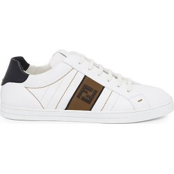 Fendi Men's FF Embroidered Sneakers - Bianco - Size 12 UK (13 US) found on Bargain Bro India from Saks Fifth Avenue for $690.00