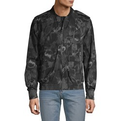Outerwear Performance Painterly Bomber Jacket