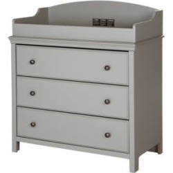 Cotton Candy Three-Drawer Changing Table