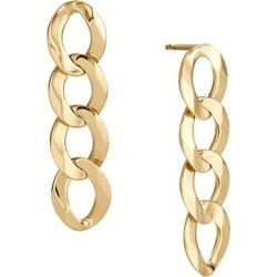 Casino 14K Yellow Gold Linear Chain Earrings found on Bargain Bro UK from Saks Fifth Avenue UK