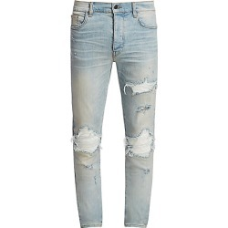 Amiri Men's MX1 Distressed Skinny Jeans - Indigo - Size 36 found on MODAPINS from Saks Fifth Avenue for USD $490.50