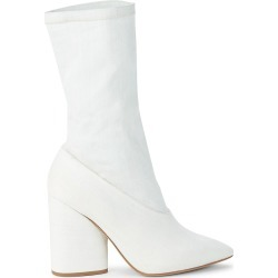 Yeezy Women's Stretch Canvas Sock Booties - Bleached Denim - Size 37 (7) found on MODAPINS from Saks Fifth Avenue OFF 5TH for USD $199.99