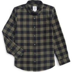 Chemise boutonnée à carreaux found on Bargain Bro Philippines from La Baie for $17.49