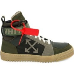 Industrial Belt High-Top Sneakers found on Bargain Bro from Saks Fifth Avenue UK for £293