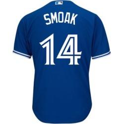 T-shirt en jersey de la MLB de Justin Smoak des Blue Jays de Toronto
