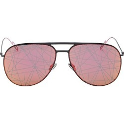 Dior Homme Men's 15MM Aviator Sunglasses - Red found on MODAPINS from Saks Fifth Avenue for USD $257.50