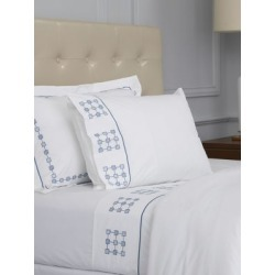 Harrogate Embroidered King Flat Sheet found on Bargain Bro India from Saks Fifth Avenue Canada for $290.93