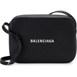 Balenciaga Women's Small Everyday Leather Camera Bag - Noir found on Bargain Bro India from Saks Fifth Avenue for $995.00