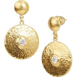Gurhan Women's Droplet 24K Yellow Gold & Diamond Large Drop Earrings - Gold found on Bargain Bro from Saks Fifth Avenue for USD $6,064.80