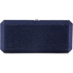 Judith Leiber Couture Women's Slim Rectangle Crystal Clutch - Dark Indigo found on MODAPINS from Saks Fifth Avenue for USD $2495.00