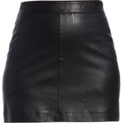 Stretch Leather Mini Skirt found on Bargain Bro Philippines from Saks Fifth Avenue AU for $680.12