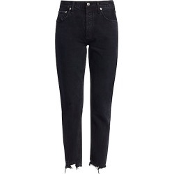 Agolde Women's Jamie High-Rise Classic-Fit Ankle Jeans - Compass - Size 25 (2) found on MODAPINS from Saks Fifth Avenue for USD $168.00