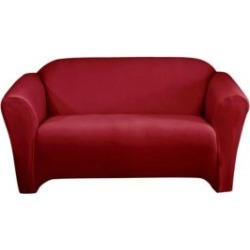One-Piece Stretch Velvet Loveseat Slipcover found on Bargain Bro Philippines from The Bay for $55.99