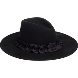 Eugenia Kim Women's Harlowe Gathered Ribbon Band Wide-Brimmed Wool Fedora - Navy found on MODAPINS from Saks Fifth Avenue for USD $425.00
