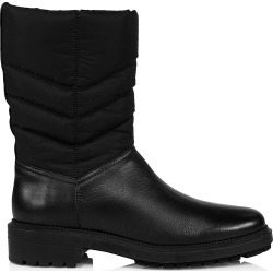 Aquatalia Women's Lori Quilted Leather & Nylon Boots - Black - Size 5 found on MODAPINS from Saks Fifth Avenue for USD $223.12