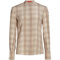 Oleana Plaid Top found on Bargain Bro from Saks Fifth Avenue Canada for USD $797.39