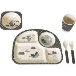 5-Piece Banditbears Bamboo Feeding Set found on Bargain Bro India from The Bay for $24.99