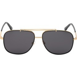 Tom Ford Men's 58MM Metal Aviator Sunglasses - Gold found on Bargain Bro from Saks Fifth Avenue for USD $361.00