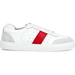 Axel Arigato Men's Dunk Striped Leather Sneakers - White - Size 40 (7) found on MODAPINS from Saks Fifth Avenue for USD $240.00