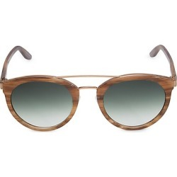 Barton Perreira Women's Dalziel 52MM Double-Bridge Round Sunglasses found on MODAPINS from Saks Fifth Avenue for USD $510.00
