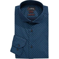 Slim-Fit Printed Dress Shirt found on GamingScroll.com from The Bay for $29.99