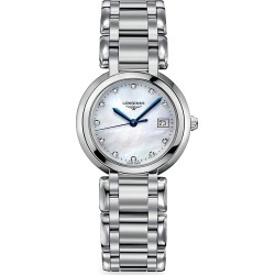 Longines Men's Ladies PrimaLuna Stainless Steel and Diamond Watch found on MODAPINS from Saks Fifth Avenue for USD $1375.00
