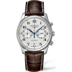 Longines Men's Master Collection Alligator Strap Watch found on MODAPINS from Saks Fifth Avenue for USD $2850.00