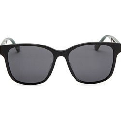 Gucci Men's 56MM Unisex Acetate Sunglasses - Black found on Bargain Bro India from Saks Fifth Avenue for $350.00