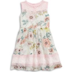 Little Girl's Floral & Lace Dress found on Bargain Bro India from The Bay for $55.00