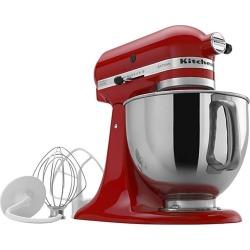 KitchenAid Artisan Series 325-Watt Tilt-Back Head Stand Mixer - Empire Red