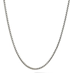 David Yurman Women's Chain Necklace - Silver found on MODAPINS from Saks Fifth Avenue for USD $305.00