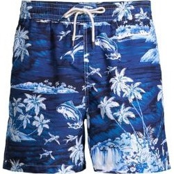 Tropical-Print Traveler Swim Trunks found on MODAPINS from Saks Fifth Avenue UK for USD $84.53
