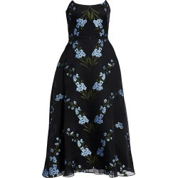 Lela Rose Women's Wildflower Strapless Cocktail Dress - Skyflower - Size 8 found on MODAPINS from Saks Fifth Avenue for USD $657.00