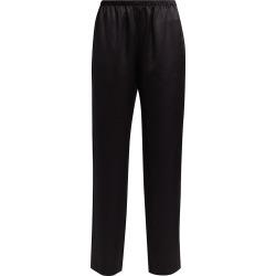 Adriana Iglesias Women's Alessia Stretch-Silk Pants - Black - Size 36 (4) found on MODAPINS from Saks Fifth Avenue for USD $545.00