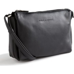 Leather Top Zip Purse