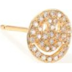 Diamond & 14K Yellow Gold Happy Face Single Stud Earring found on Bargain Bro India from Saks Fifth Avenue Canada for $636.35