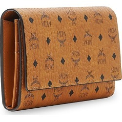 MCM Women's Large Visetos Original Wallet - Cognac found on MODAPINS from Saks Fifth Avenue for USD $315.00