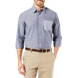 Mixed-Media Standard-Fit Button-Down Shirt found on Bargain Bro Philippines from The Bay for $27.60