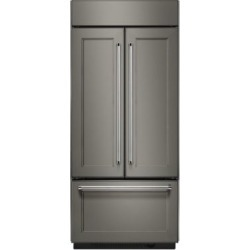 KBFN506EPA-36 inch Wide, 20.8 Cu. Ft, French Door Refrigerator- Panel Ready