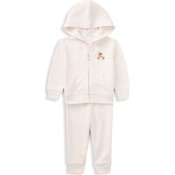 Baby Girl's 2-Piece Polo Hoodie & Joggers Set found on Bargain Bro from Saks Fifth Avenue Canada for USD $47.32