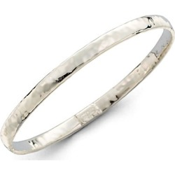 Ippolita Women's Classico Narrow Sterling Silver Flat Hammered Bangle Bracelet - Silver found on Bargain Bro Philippines from Saks Fifth Avenue for $295.00